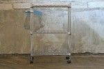 Contemporary Kitchen Utility Cart - ONLINE ONLY