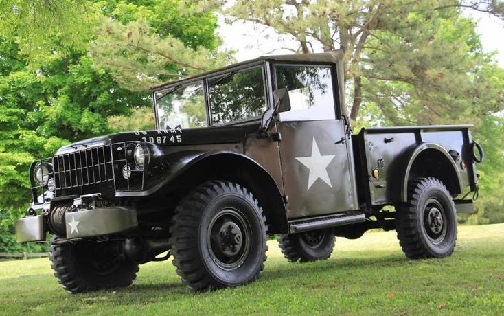 Memorial Day Special: 1952 Dodge M37 - http://barnfinds.com/memorial-day-special-1952-dodge-m37/