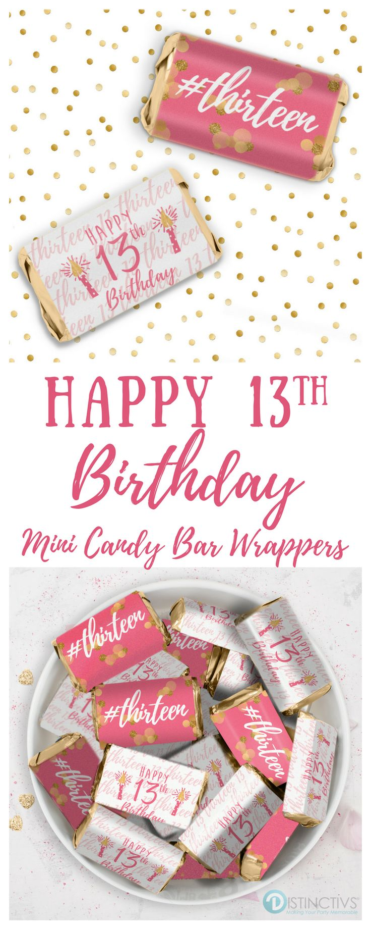 25 best 13th Birthday Party images on Pinterest | Birthdays, 13th ...