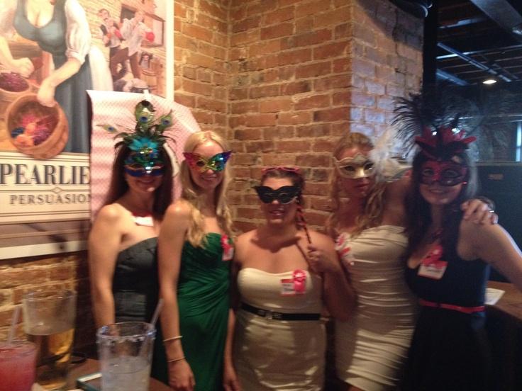 Masquerade bachelorette party