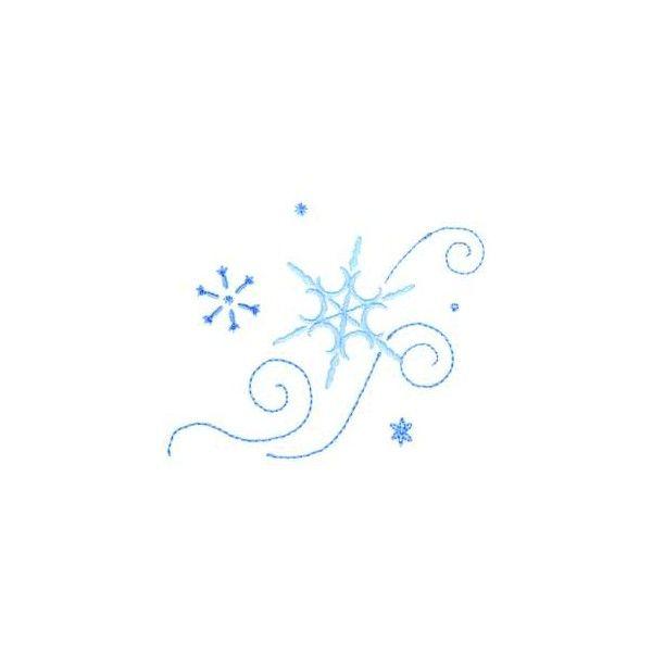 Small Snowflake Tattoos found on Polyvore