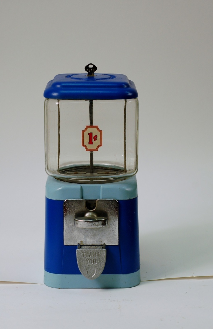 78 best Vintage gumball machines images on Pinterest ...
