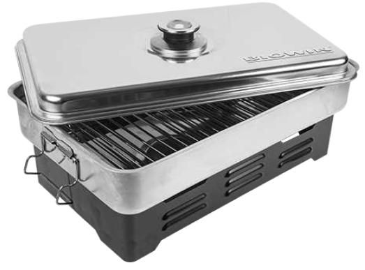 Wędzarnia z termometrem Biowin 330001 Sprzęt AGD dla domu i kuchni - Agdbest.pl