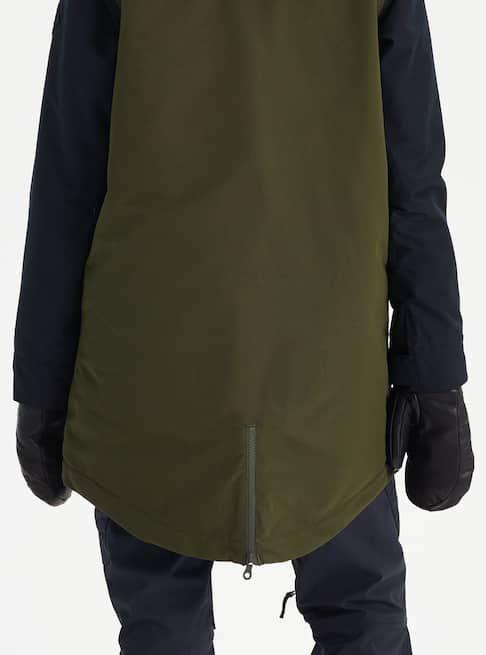 490fbd5d956 Women s Burton GORE-TEX Eyris Jacket shown in True Black   Forest Night