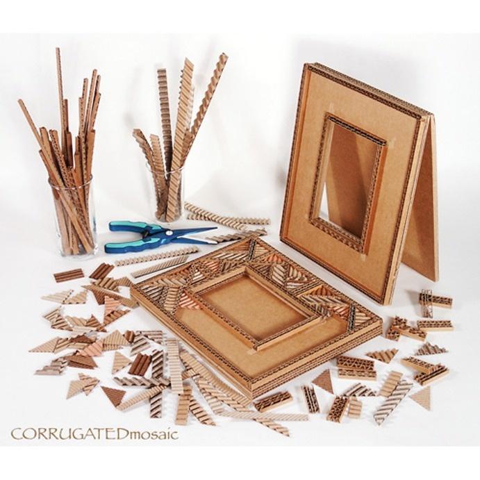 Art with Corrugated Cardboard!
