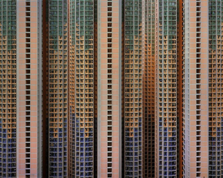 Michael Wolf -   Architecture of Density #91, 2009