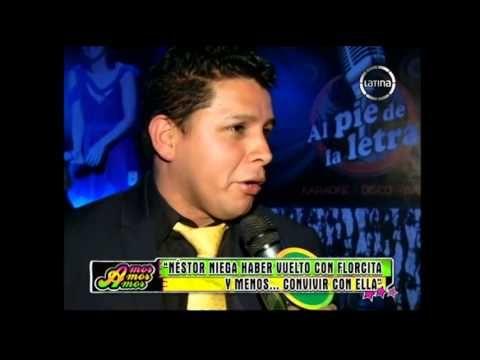 Néstor Villanueva negó haber vuelto con Florcita Polo