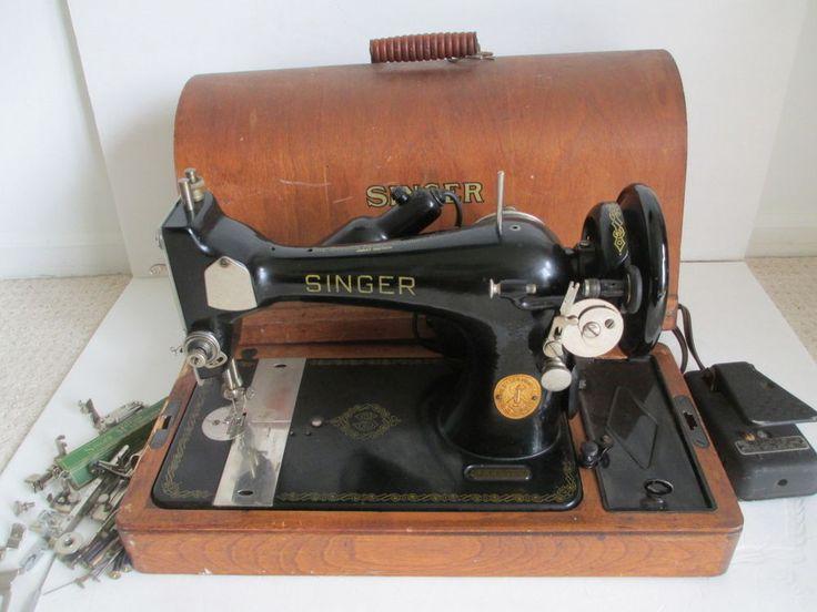 singer sewing machine 128