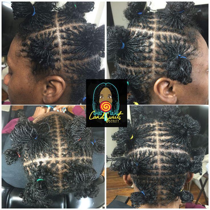 The Grid Foundation Sisterlocks In Loose Curl Pattern Hair