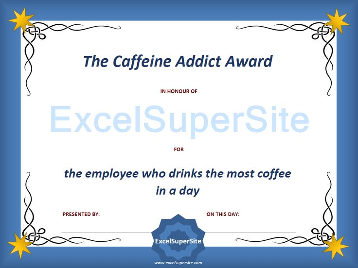 Recognition of staff/employees for all their efforts throughout the year is very important. Many offices days hold annual events as a means of showing their employees appreciation and celebrating a successful year. Why not liven up that event by presenting staff and employees with some funny awards?
