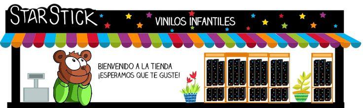 StarStick es una tienda online dedicada al diseño y venta de vinilos infantiles. Vinilos infantiles diseñados y fabricados en España.