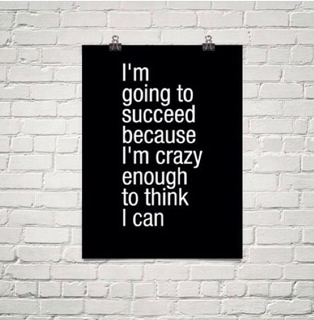 Are you crazy enough ? 30 Day Challenges, Go Girls, Succeed, Life, Inspiration, Success Quotes, Crazy Girls, I M Crazy, ...