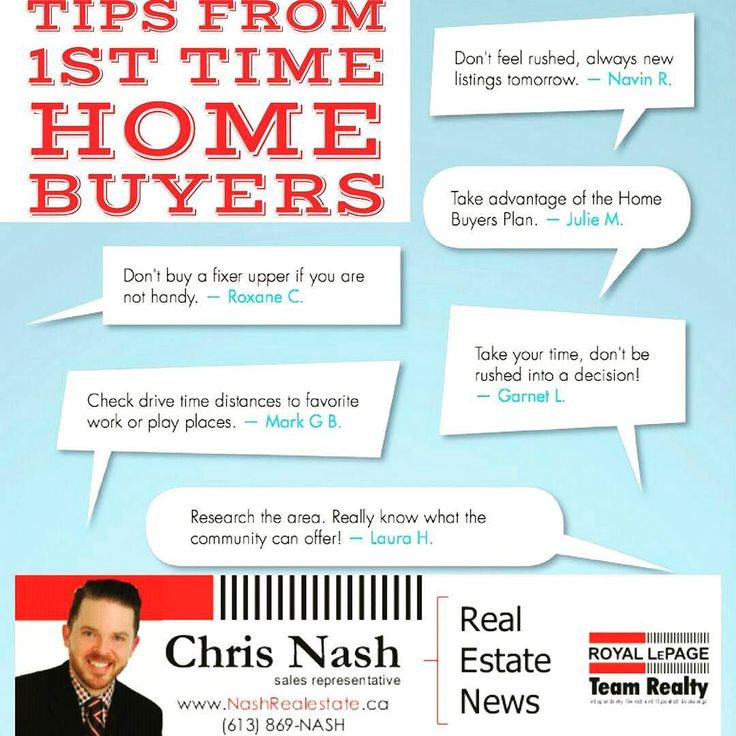In ten words or less here are past first time home buyers offering advice to future first time home buyers.  Want more advice? Visit my #blog to have a look at my frequent postings.  http://ift.tt/1WUAJGD  #ottawa #ilovemyjob #ottawalife #teamrealty #royallepage #realtorlife #glebe #westboro #hintonburg #oldottawasouth #centertown #kanata #ottawarealestate #local613 #buffini #openhouse #ottawau #ottawafood #ottawafoodies #ottawastyle #myottawa #ottcity #igersottawa #cdnpoli #ottnews…