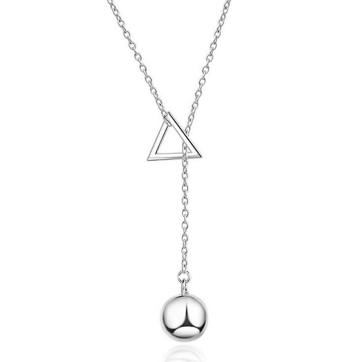Necklaces pendants 1913 pinterest silver chain hot sell fashion simple design 925 sterling silver ladiespendant necklaces jewelry gift mozeypictures Gallery