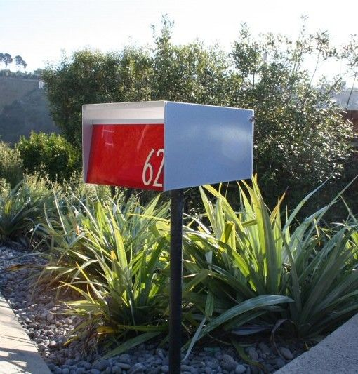 Urban Back Opening Letterbox Zincalume®