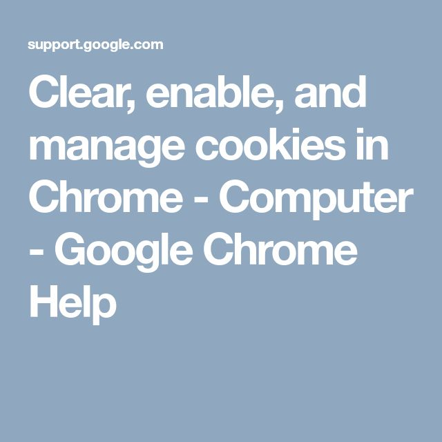 how to clear cookies on google chrome laptop