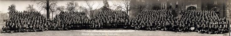 Students of Baylor University, 1920