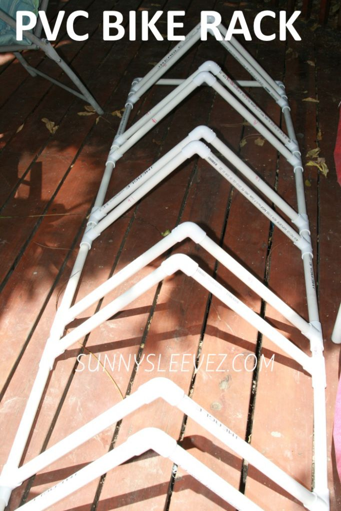 PVC BIKE RACK DIY PLANS