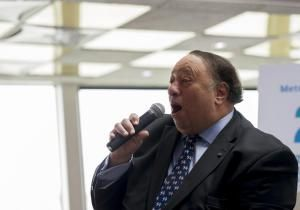 Republican John Catsimatidis, who blew his stack in public Sunday. The billionaire businessman got loud at a Brooklyn Young Republicans event — yelling and swearing at challenging questioners.