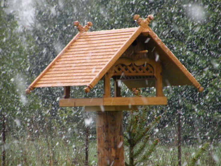 Wood Bird Shelter : Best images about budki dla ptaków birdhouses on