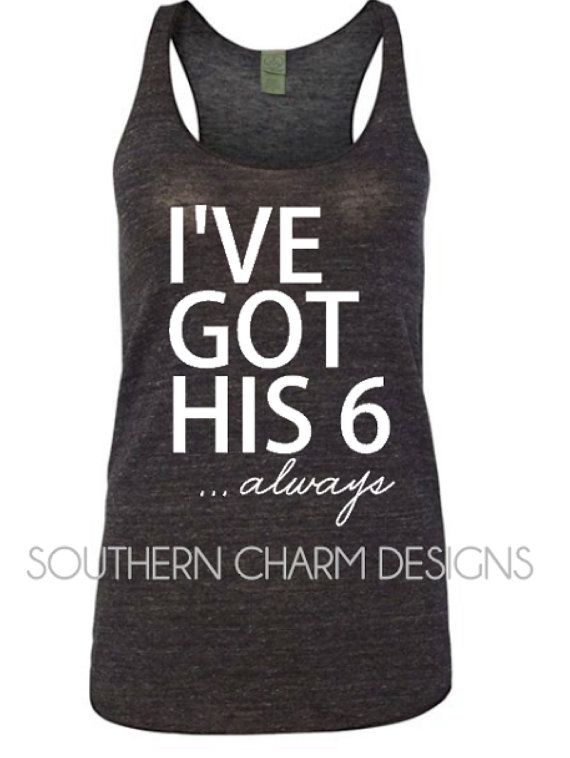 I've Got His 6 Always LEO Police Wife Law by SCTNDesigns on Etsy