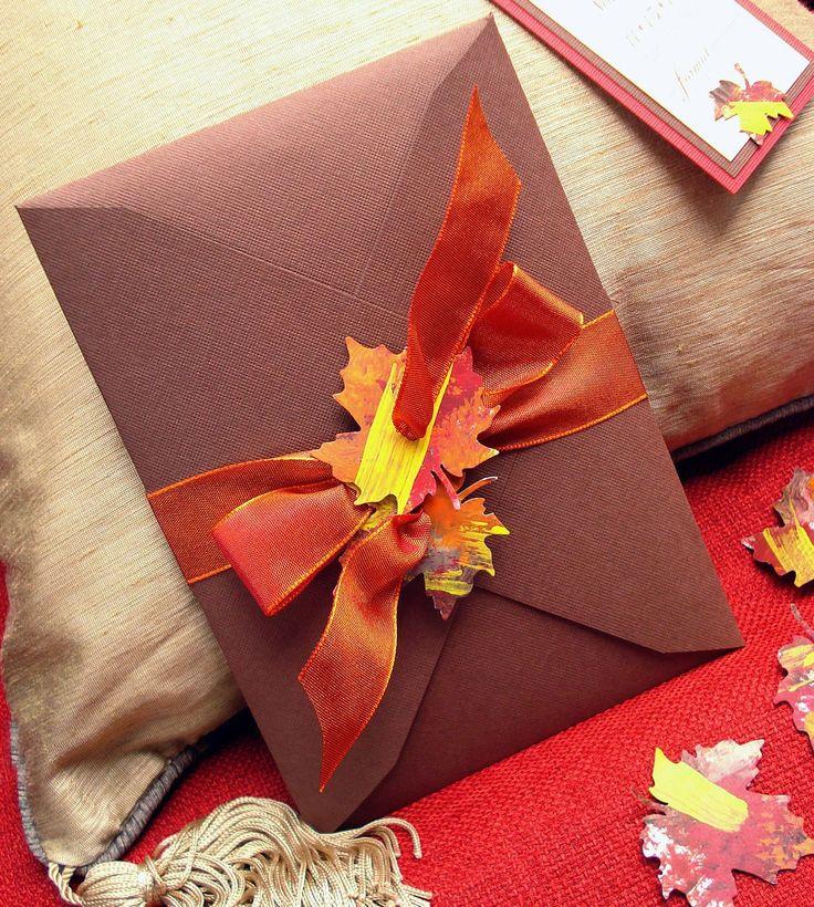 lovely autumn invitations