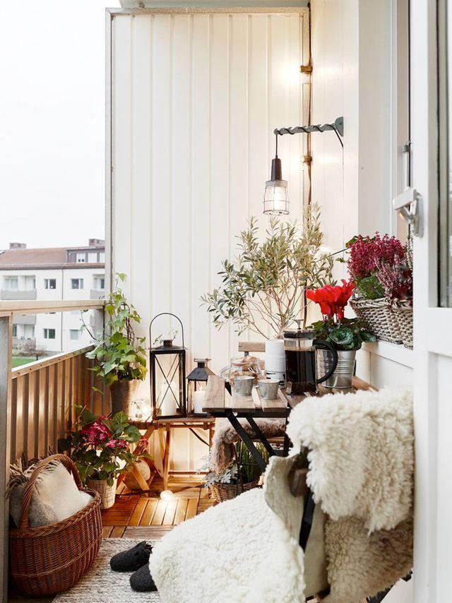 Balcony inspiration Р18 id̩er til din altan (trine's wardrobe ...