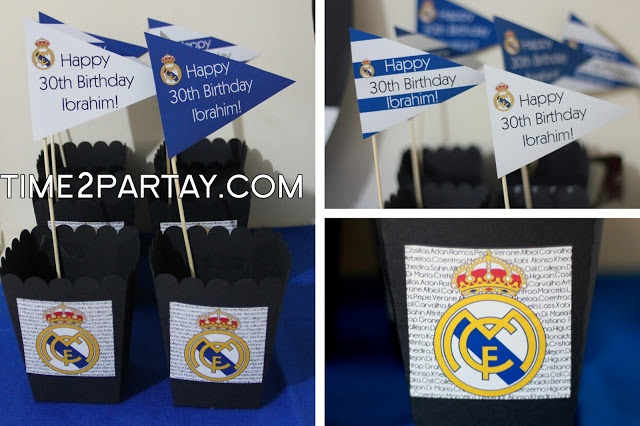 48 Best Images About Real Madrid Party On Pinterest