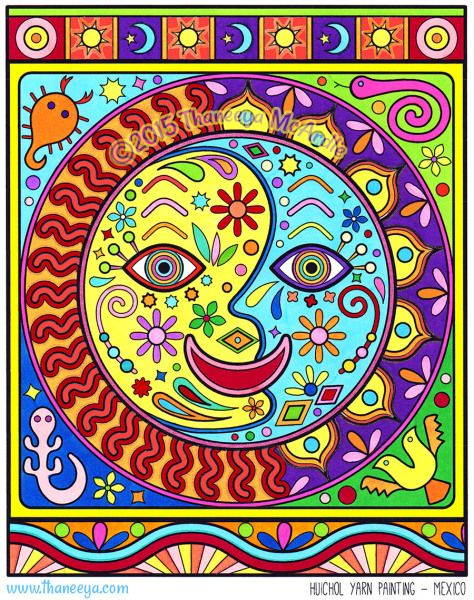 1000 images about coloring books by thaneeya on pinterest for Folk art coloring pages