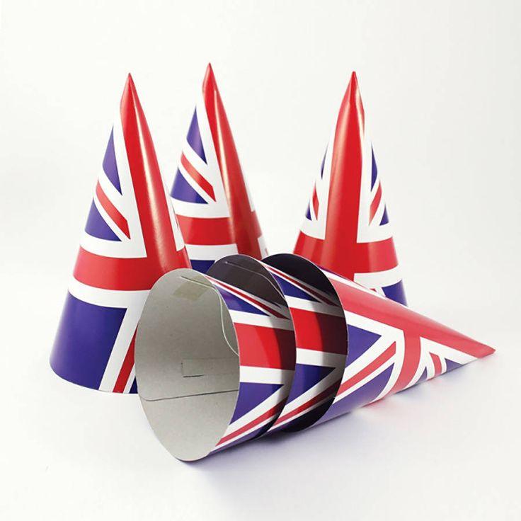Union Jack Party Hats