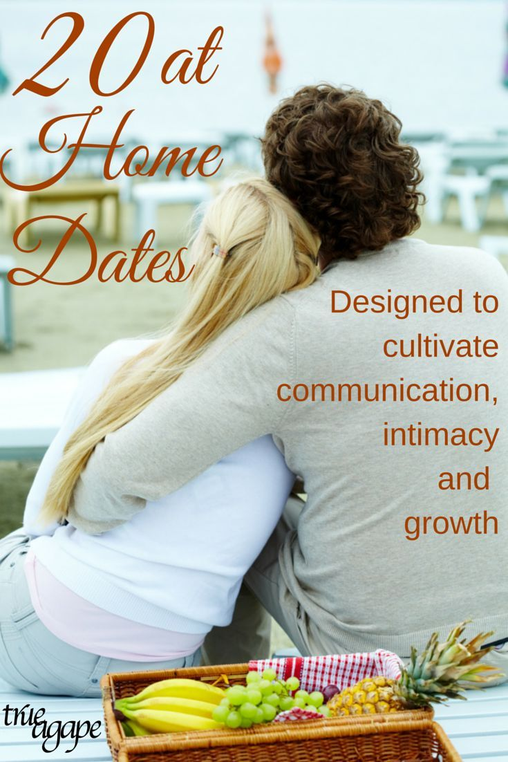 20 at home dates for busy times. Just gather the few listed things and everything else is ready for you.