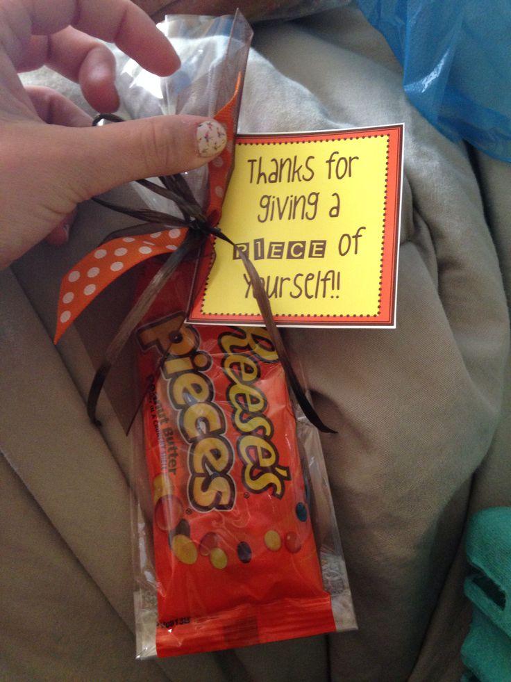 Teacher gift or thank you easy peasy