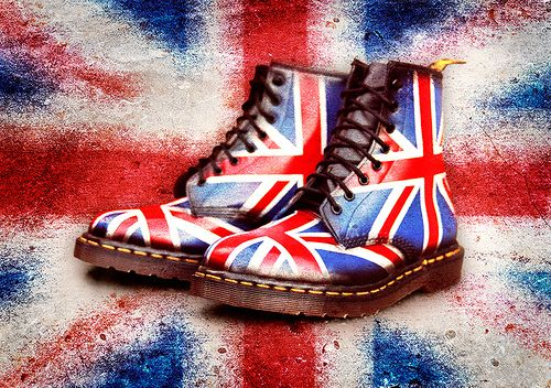 I love Doc Martens & I really want a Union Jack pair. Just a shame they are not made in England any more!