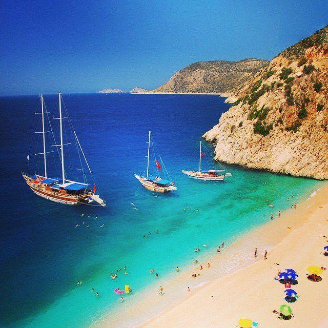 Old good #Kaputas  beach - the piece of paradise on Turquoise coast of #Turkey