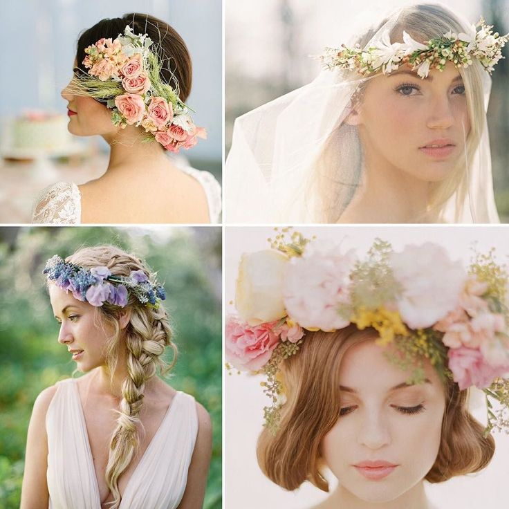 Flower crowns still hot this year!  #bryllup #weddingdaynorway #rusticwedding #dittbryllup #vintagebride #happiness #bridalfashion #bohochic #bridetobe #bridetobe #noiva #countrywedding #forlovet #bohobride #bridesmaids #destinationwedding #brude #engaged #weddingday #chicbride #summerwedding #instawed #instawedding #chicvintagewedding #vintagewedding #weddingdecor #weddingcake #minmote #brudekjole by weddingdaynorway