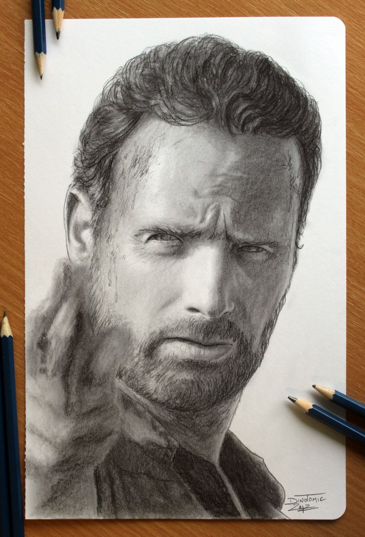 The Walking Dead : Rick by AtomiccircuS.deviantart.com on @deviantART