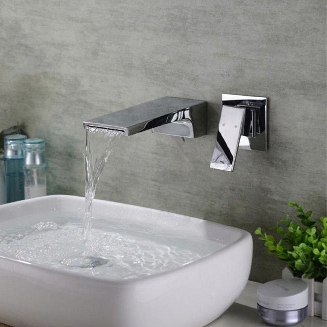 Tutorial An Original Separation With Hanging Plants Saleprice 26 Wall Mount Faucet Bathroom Sink Sink Faucets Wall Mounted Sink