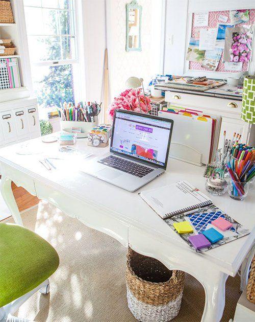 33 best Home Office images on Pinterest | Desk ideas, Office ideas ...