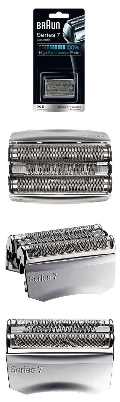 Shaver Parts and Accessories: New Braun Replacement Foil And Cutter Cassette 70S Series 7 Pulsonic 9000 BUY IT NOW ONLY: $93.69