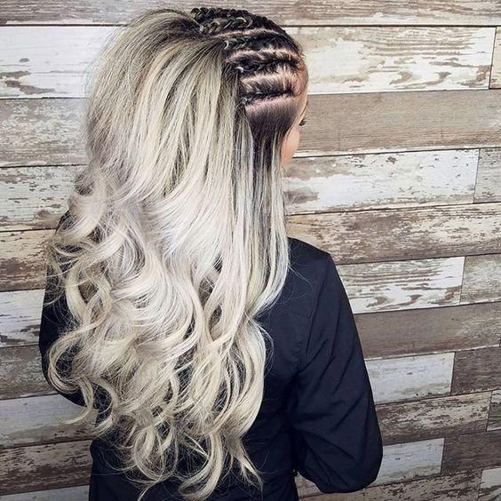 35 braided hairstyles for girls who are just awesome ,  #Aesthetics #BantuKnots #Braid #Culture #Fashion