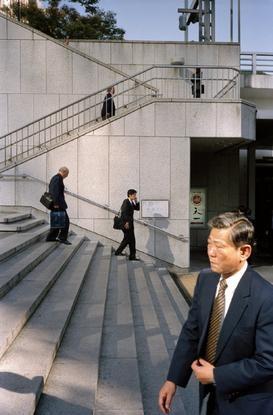 japan 1999 tokyo shinjuku salary men by chris steele-perkins