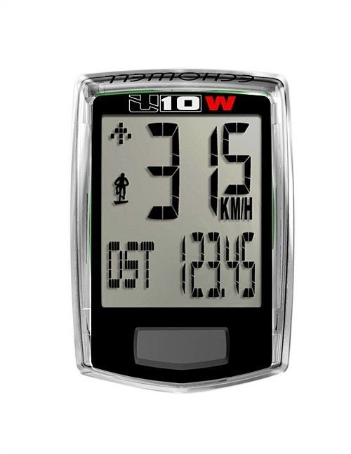 How fast did we go on that downhill?...Echowell U10 Wireless 10 Function Speedo
