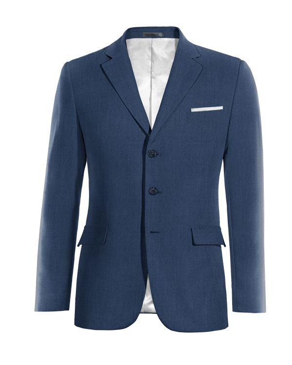 Blue wool Blazer http://www.tailor4less.com/en/men/blazers/4045-blue-wool-blazer