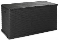 Bentley Garden Black 420L Storage Box this can be used both indoors and outdoors. Ideal for storing garden essentials.
