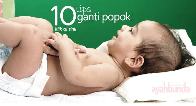 10 tips ganti popok :: 10 tips to change baby's diaper