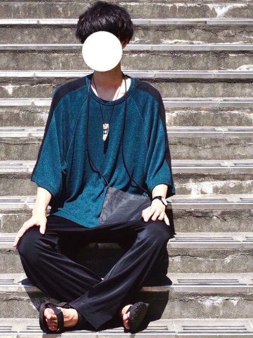 とっしー|SHAREEFのTシャツ/カットソーを使ったコーディネート - WEAR