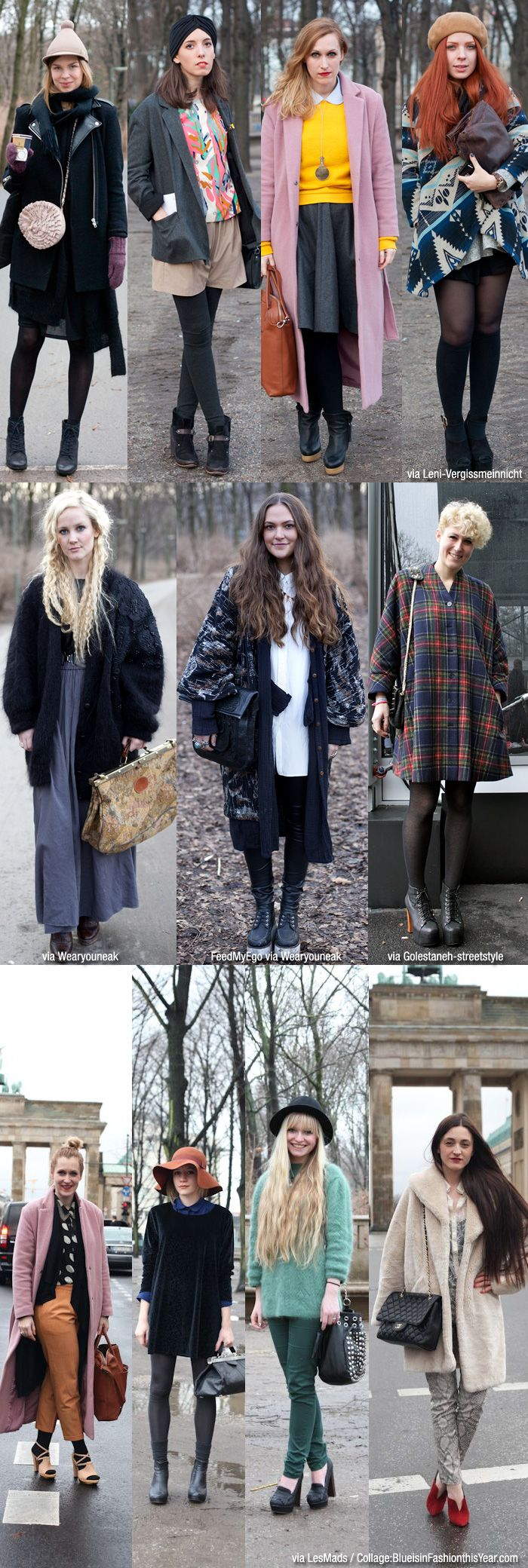 Berlin street style from Blue Is In Fashion This Year