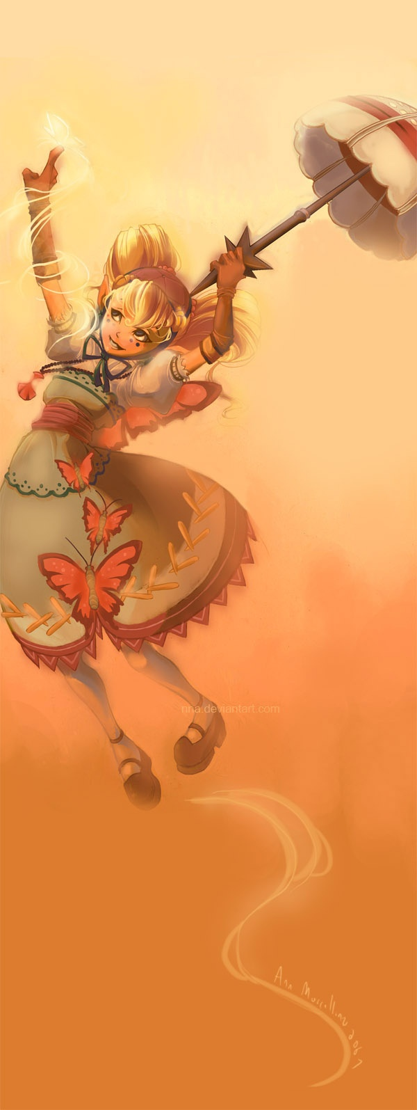 Lil' Butterfly by *nna on deviantART (Agitha from Zelda Twilight Princess)