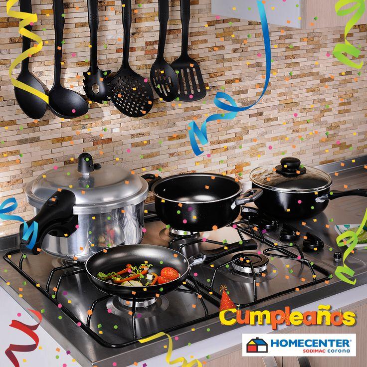 Prepara tus comidas con lo último en ollas  y menaje para tu cocina, solo en #CumpleañosHomecenter