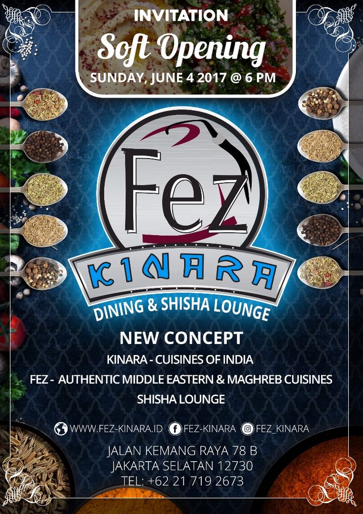 We are happy to announce that our newly Fez Kinara restaurant is now ready for your dining and shisha pleasure. We are eager to treat you to a unique and amazing dining experience with our special Authentic Middle Easter & Maghreb Cuisines and Indian Cuisines.    We have been celebrated our soft opening on June, 4th 2017 with amazing crowd and presenting Morocco, Tunisia, Egypt, Turkey, Lebanon, Iran, Iraq, Qatar, Saudi Arabia, United Arab Emirates, Bahrain, Kuwait, Algeria & Jordan, and…